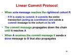 linear commit protocol30