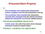 presumed abort property24