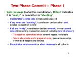 two phase commit phase 111