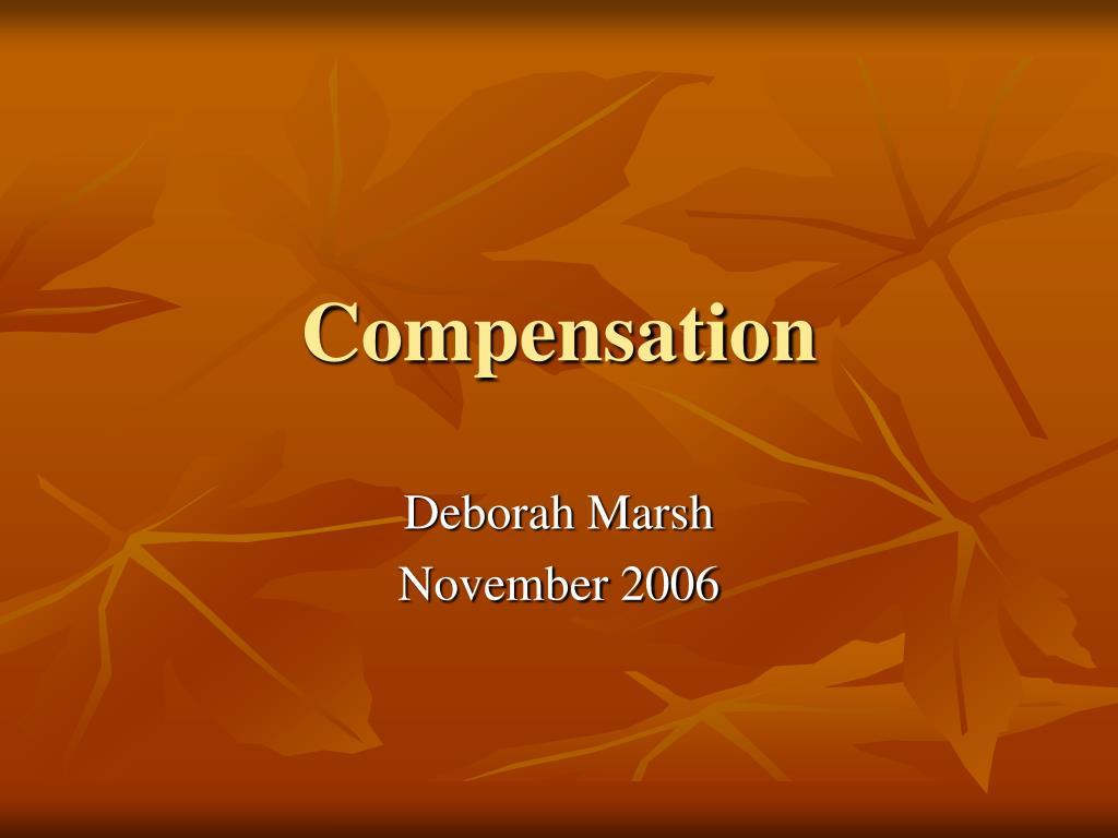 compensation l.