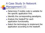 a case study in network management 1