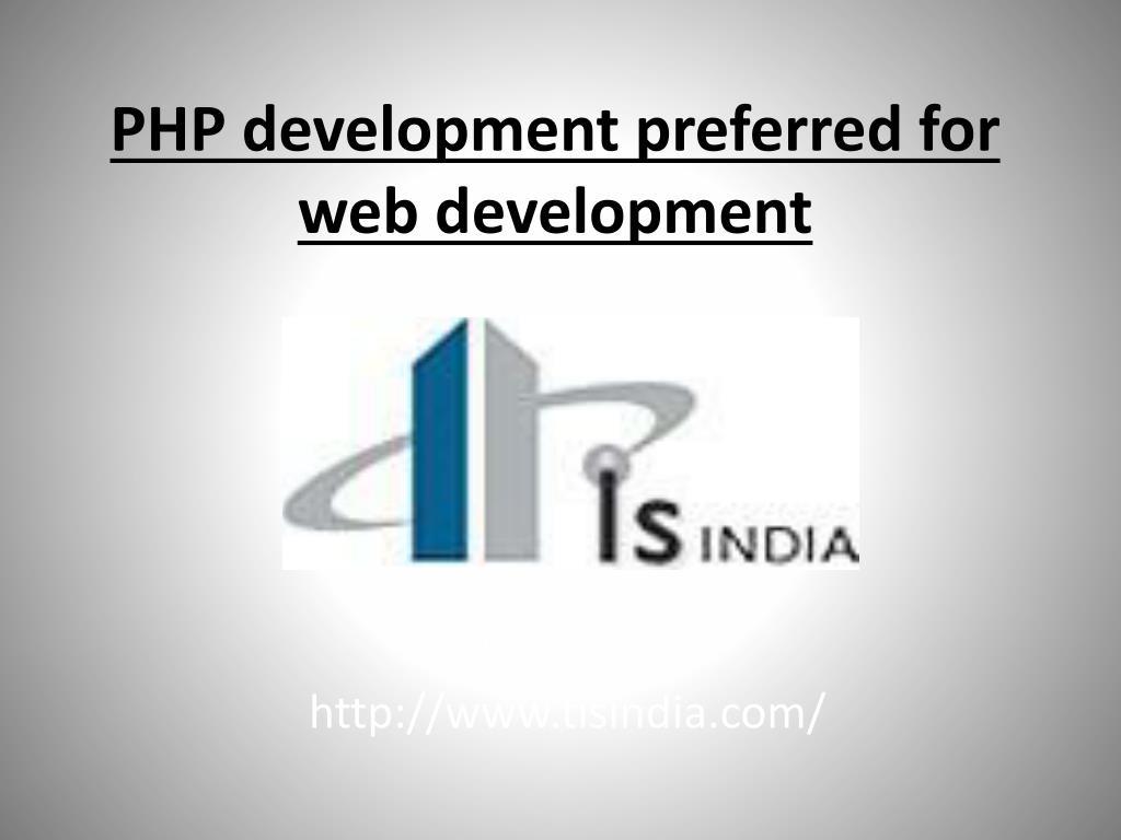 php development preferred for web development l.