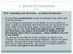 2 quality of assessment18