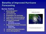 benefits of improved hurricane forecasting22