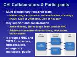 chi collaborators participants