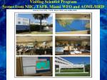 visiting scientist program scenes from nhc tafb miami wfo and aoml hrd