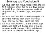 summary and conclusion 1