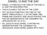 daniel 12 and the day