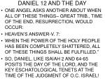 daniel 12 and the day21