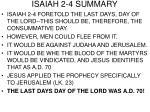 isaiah 2 4 summary