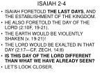 isaiah 2 4