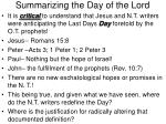 summarizing the day of the lord23