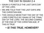the day in isaiah 2 4
