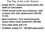 the day of the lord assyria