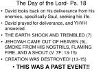 the day of the lord ps 18