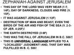 zephaniah against jerusalem