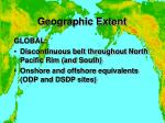 geographic extent11