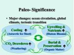 paleo significance22