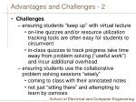 advantages and challenges 2