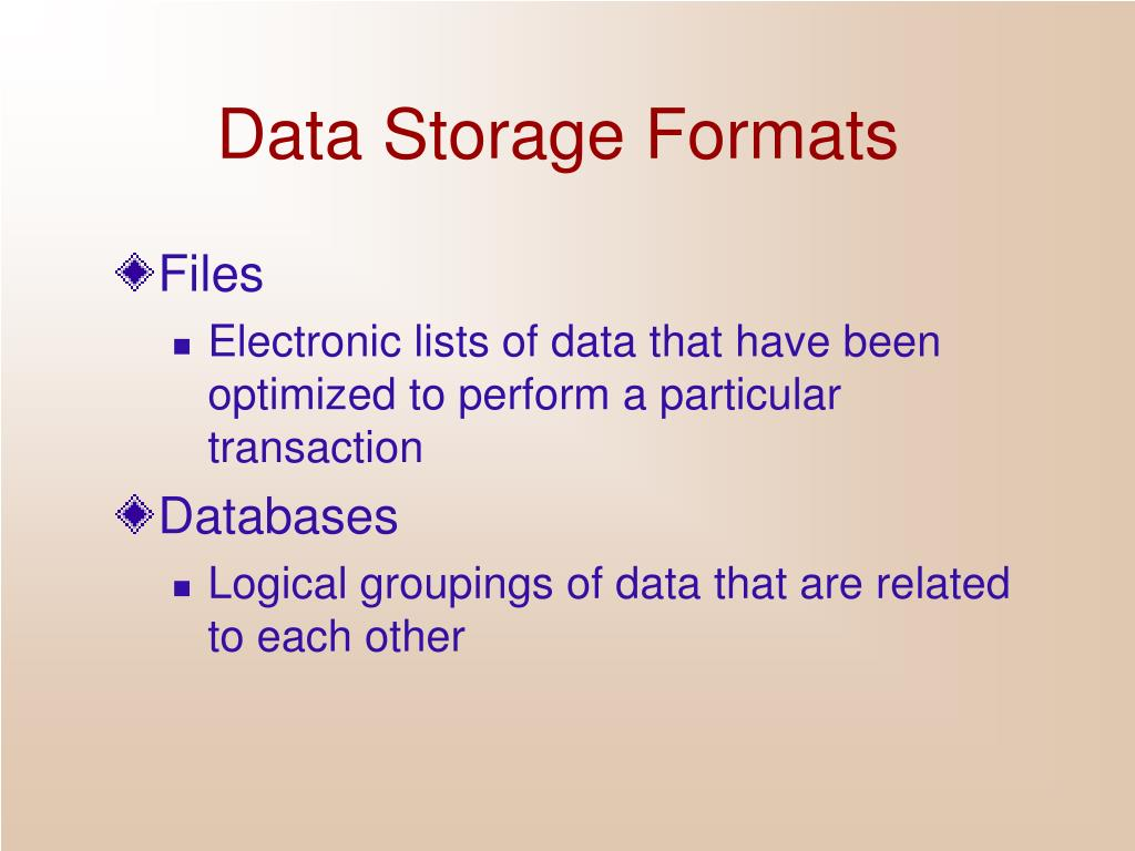 data storage in dbms The apache cassandra database is the right choice when you need scalability and high availability without compromising performance linear scalability and proven fault-tolerance on commodity hardware or cloud infrastructure make it the perfect platform for mission-critical data.