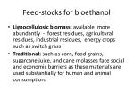 feed stocks for bioethanol