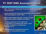 fy 2007 nws accomplishments4