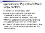 implications for puget sound water supply systems27