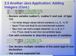 2 5 another java application adding integers cont28