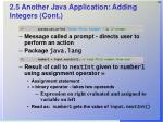 2 5 another java application adding integers cont29