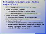 2 5 another java application adding integers cont30
