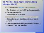 2 5 another java application adding integers cont31