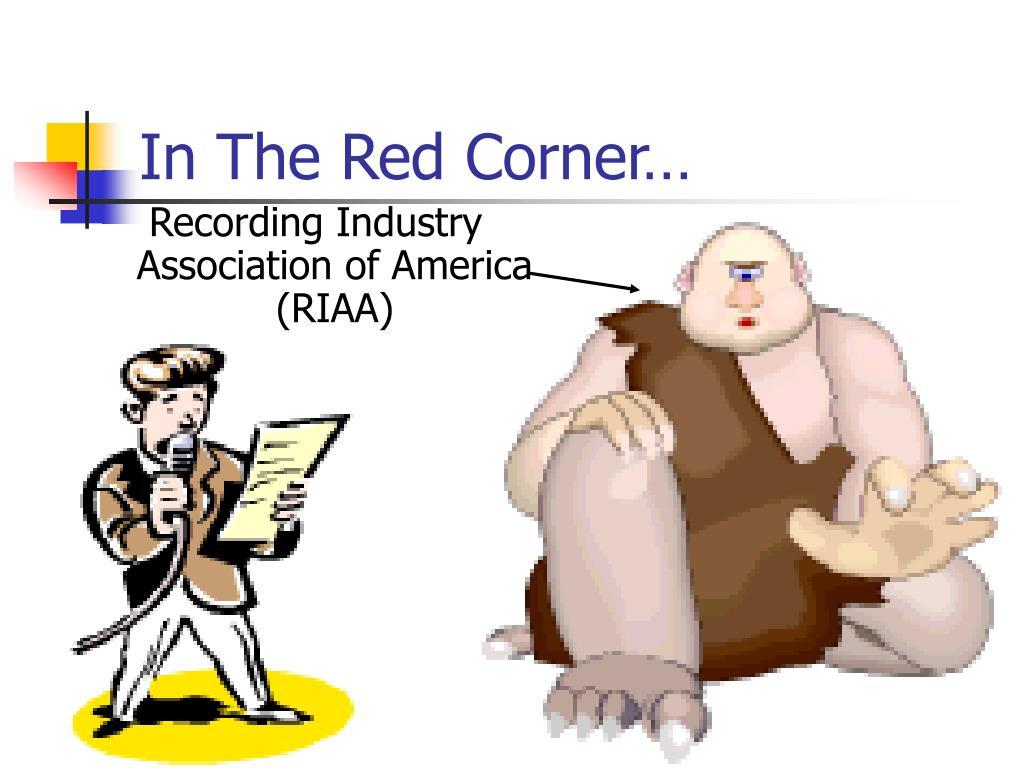 In The Red Corner…