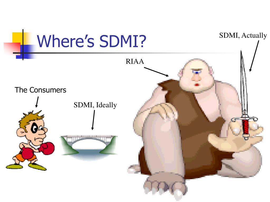 SDMI, Actually