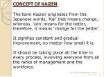 concept of kaizen24