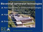 bio energy conversion technologies