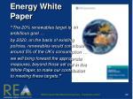 energy white paper