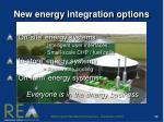 new energy integration options