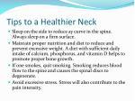 tips to a healthier neck11