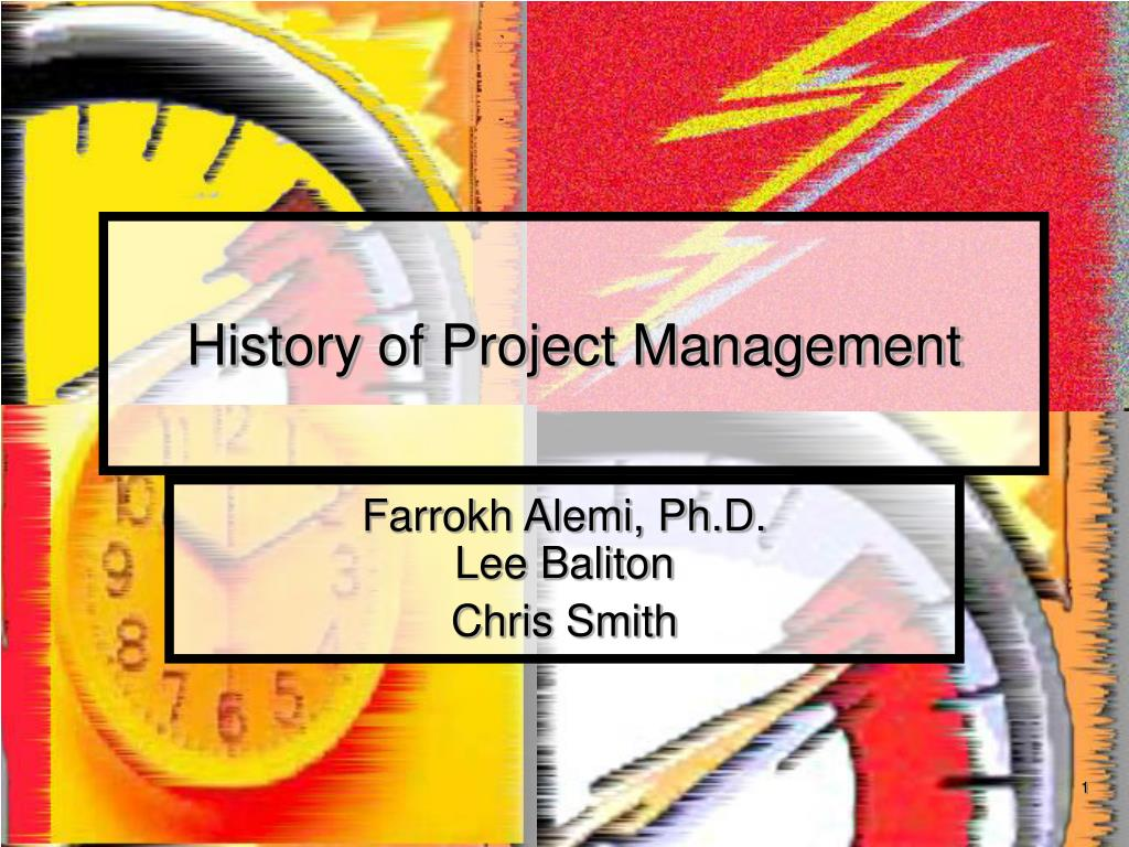 history of project management l.
