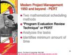 modern project management 1950 and beyond pert38