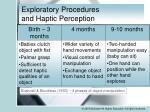 exploratory procedures and haptic perception4
