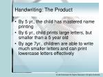 handwriting the product1