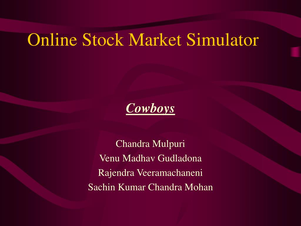 online stock market simulator l.