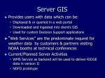 server gis
