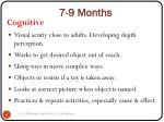 7 9 months9
