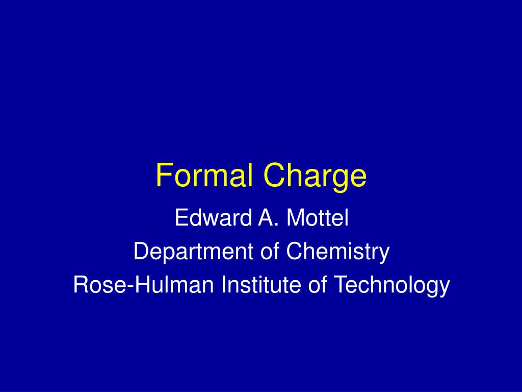 formal charge l.