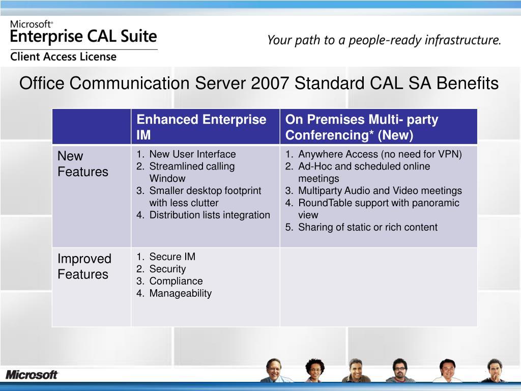 PPT - University of Kentucky Microsoft Enterprise CAL PowerPoint