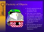 facticity of objects
