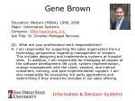 gene brown
