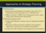 approaches to strategic planning10